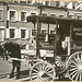 Milk wagon and old houses, Grove Street, No. 4-10, Manhattan...