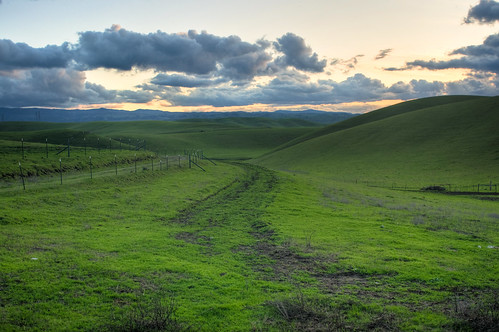 california sunset landscape nikon day cloudy dusk meadow valley livermore hdr greengrass d300