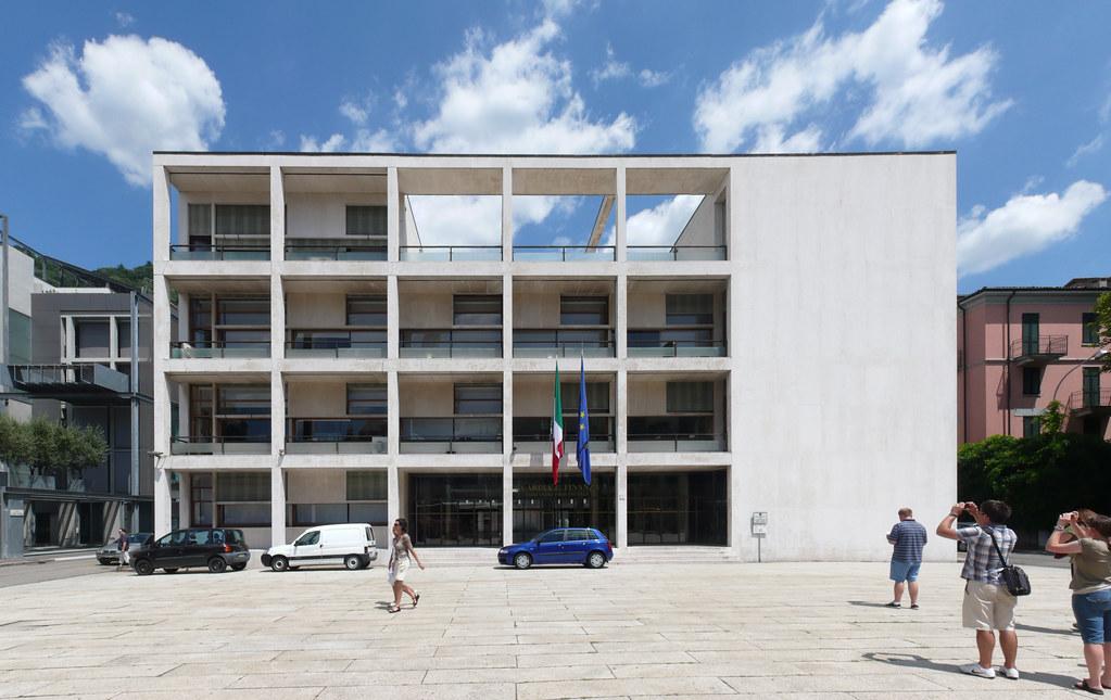 Giuseppe terragni casa del fascio 1936 a photo on for Giuseppe terragni casa del fascio