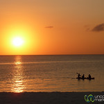 Canoe At Sunset - Kendwa, Zanzibar