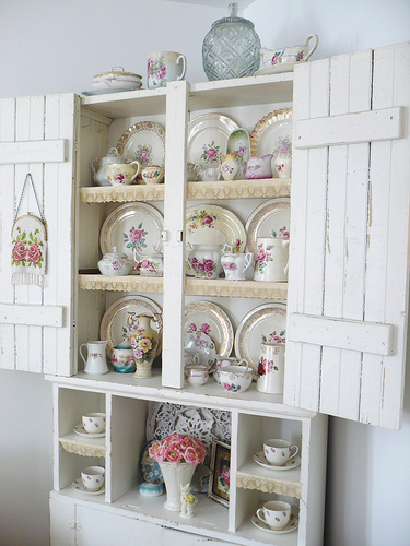 cupboard of roses