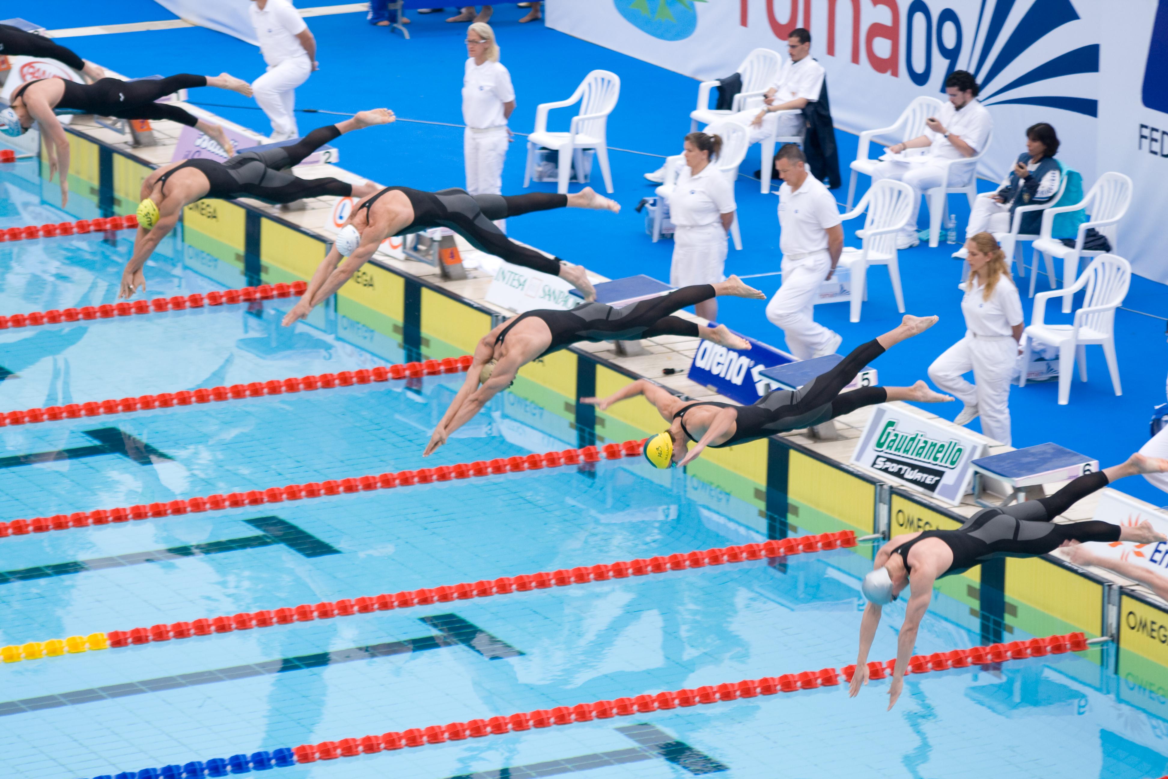 стиль картинки вольный плавания