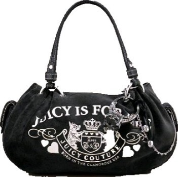 9f495c4af937 ... Juicy Couture Baby Fluffy Velour Ring Bling Bag