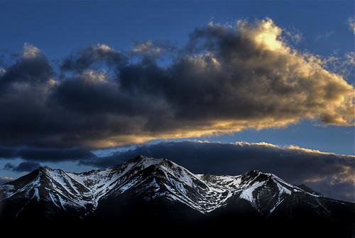 sunset mountain snow nature clouds landscape colorado explore buenavista fourteener hdr collegiatepeaks mountprinceton naturesfinest photomatix 200805 johnsonvillage