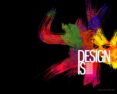 Design is WATEVA!