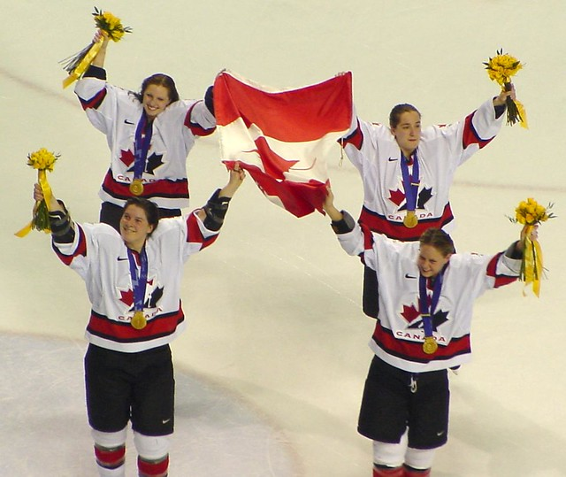 2002 olympics victory skate | members of the canadian women'… | Flickr