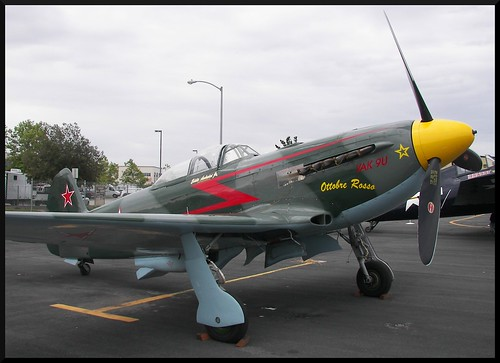 Russian Yak-9 at Watsonville