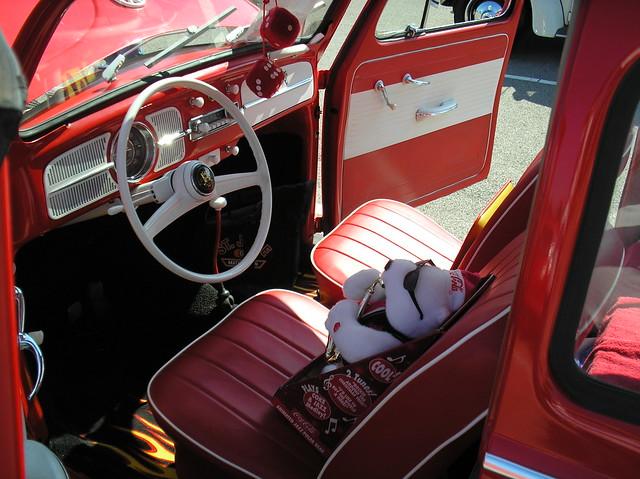 1958 volkswagen beetle interior coca cola themed a photo on flickriver