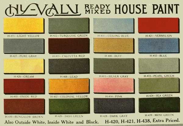 Aladdin Paint Antique House Paint Colors Flickr Photo Sharing