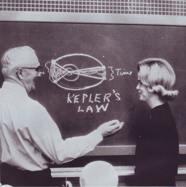 1965 student learns Kepler's Law