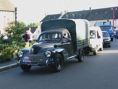Tour de Bretagne 2006, camionette Ancienne 203 Peugeot