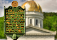 Montpelier VT. - Vermont State House Capitol 01