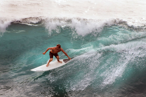 Surfs Up at Honolua Bay