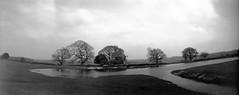 Mogshade Hill - pinhole pond pano