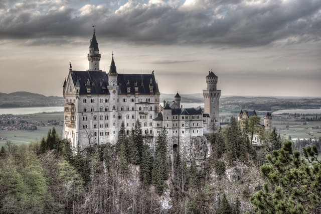 Neuschwanstein Castle, Transylvania | This is ... Modern Office With People