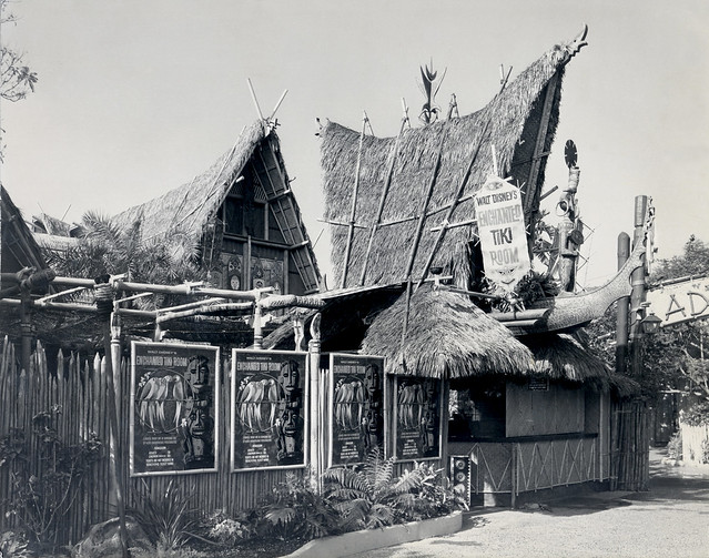 Disneyland Tiki Room Entrance 1963