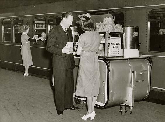 Mobile buffet service - Sydney
