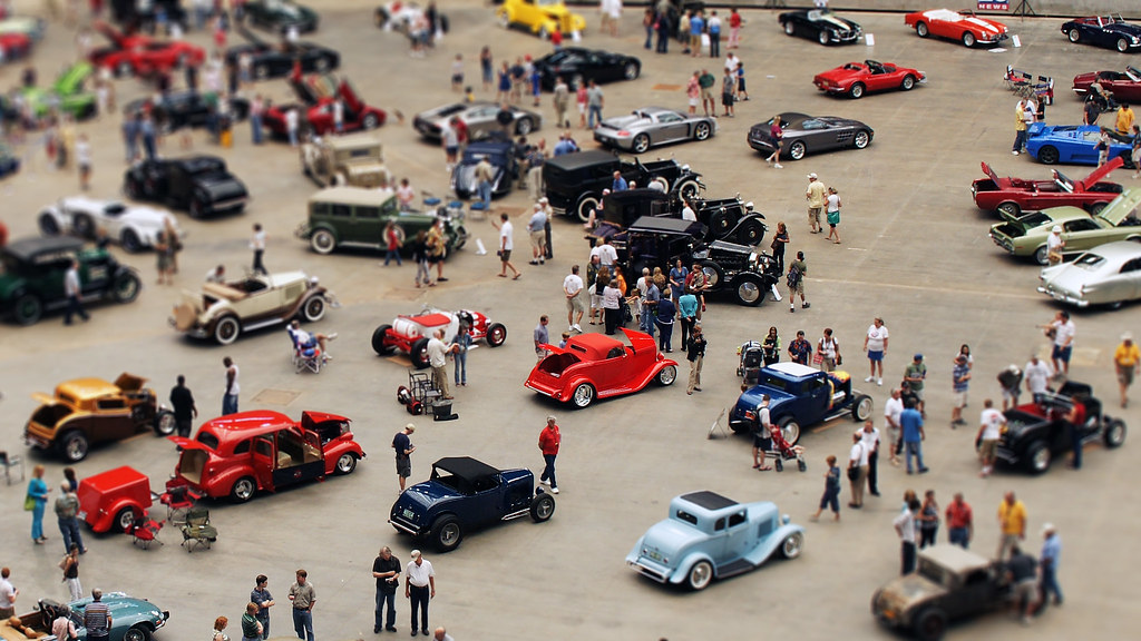 Fake Miniature Car Show