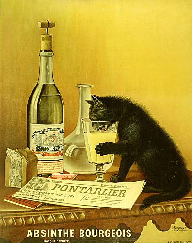 Absinthe Bourgeois Cat