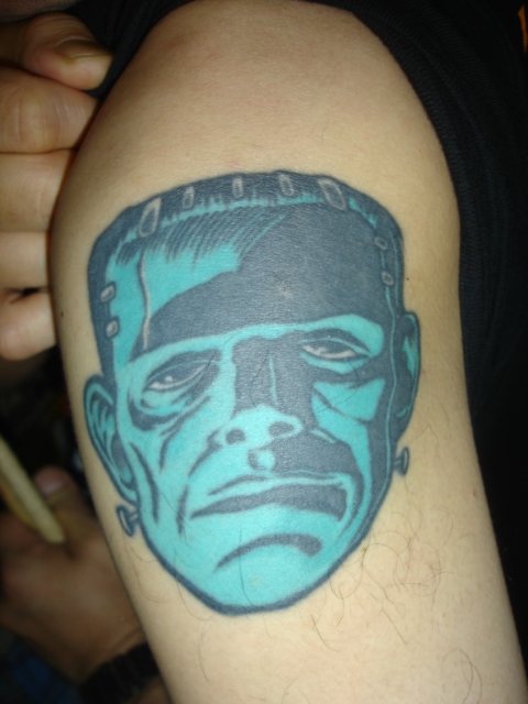Itaru's Frankenstein Tattoo - Birdland (Sendai)