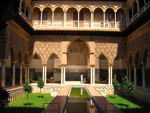 Islamic Spain -  Patio de las Doncellas
