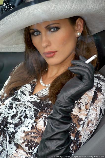 A fur smoking holder mistress 1 - 2 part 2