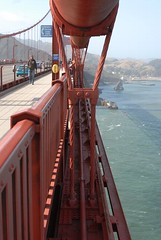 Middle of the Golden Gate Bridge - Suspension