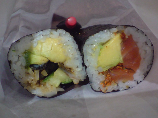 Unagi Avocado and Spicy Salmon Sushi Rolls - Diane Sushi | Flickr ...