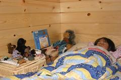 Olivia in Bunkbed Camping