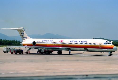 ZAS MD-83 D-ALLD GRO 12/07/1990