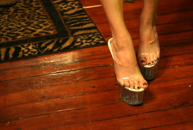 Clear Platform Shoes Cheap