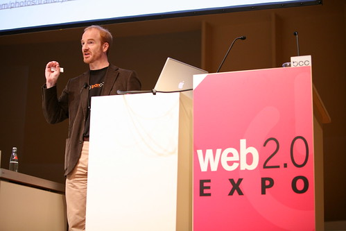 Tom Raftery speaking at Web 2.0 Expo