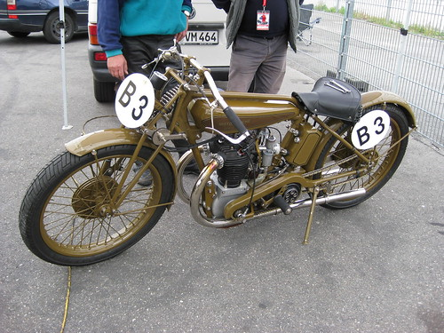 Motosacoche; Swiss Racer by the vintagent
