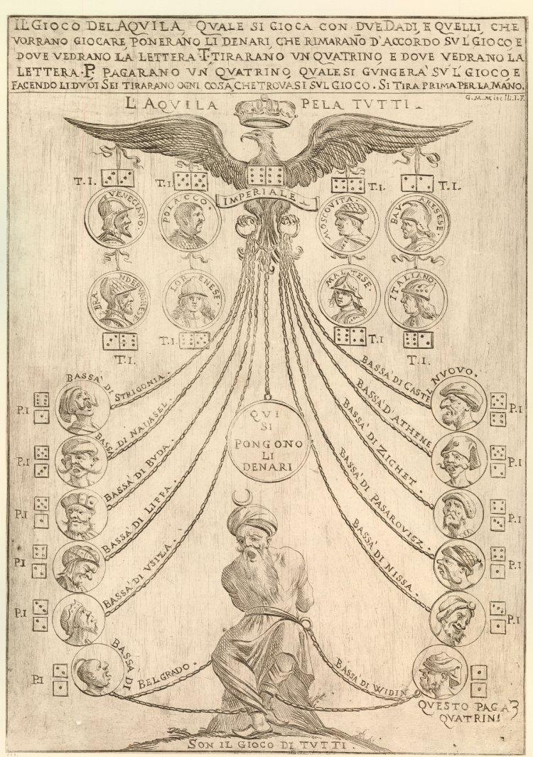 Il gioco del aquila (1680s)