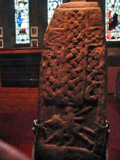 Sun Stone at Govan Old Church, Scotland