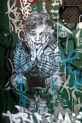 NYC - Brooklyn - DUMBO: Stencil art by C215