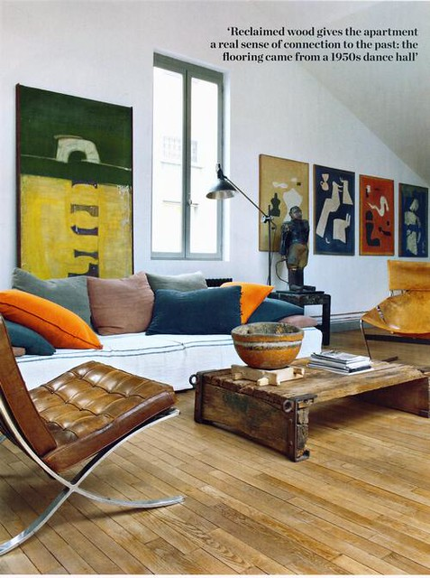 Magazine Elle Decoration  Maison Starck