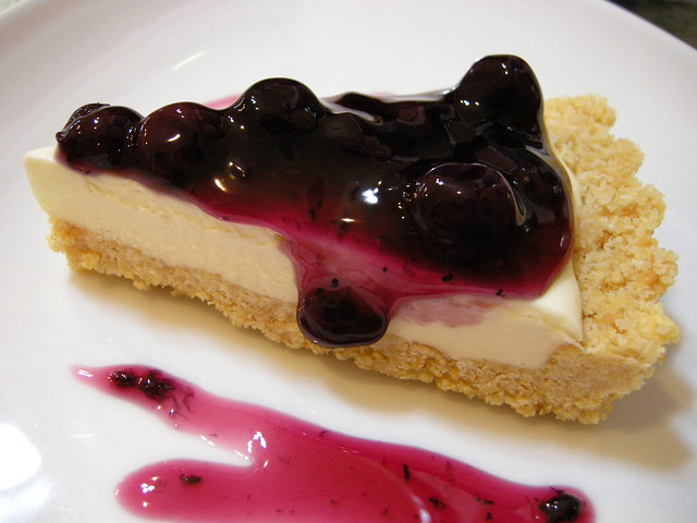 Blueberry Cream Cheese Pie @ Cafe Casta | Flickr - Photo Sharing!