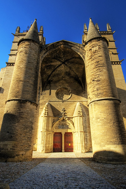 Montpellier cathedral take here a large view montpe flickr photo sharing - Cathedrale saint pierre de montpellier ...