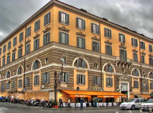 Cloudy Rome