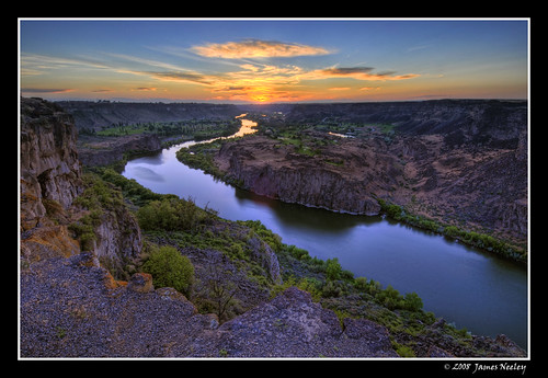 Snake River Sunset