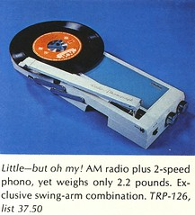 Crown Phono/AM Radio
