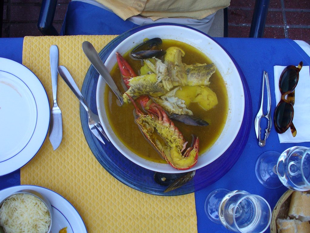 Bouillabaisse at Le Marseille