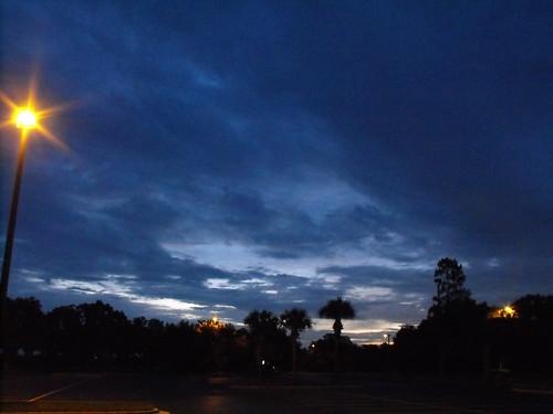 blue clouds sunrise cloudy finepix fujifilm photoshopcs s1000fd