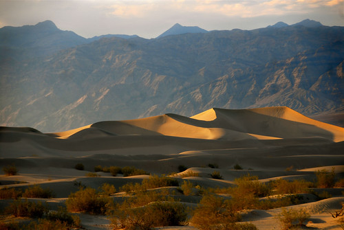 the dunes of death valley
