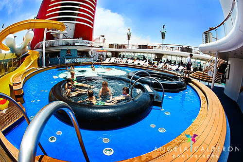 Mickey Pool On The Disney Magic Cruise Ship