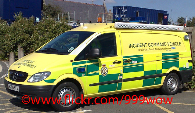 Ambulance Incident Command Vehicle