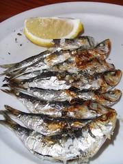 Espeto de Sardinas ya emplatado