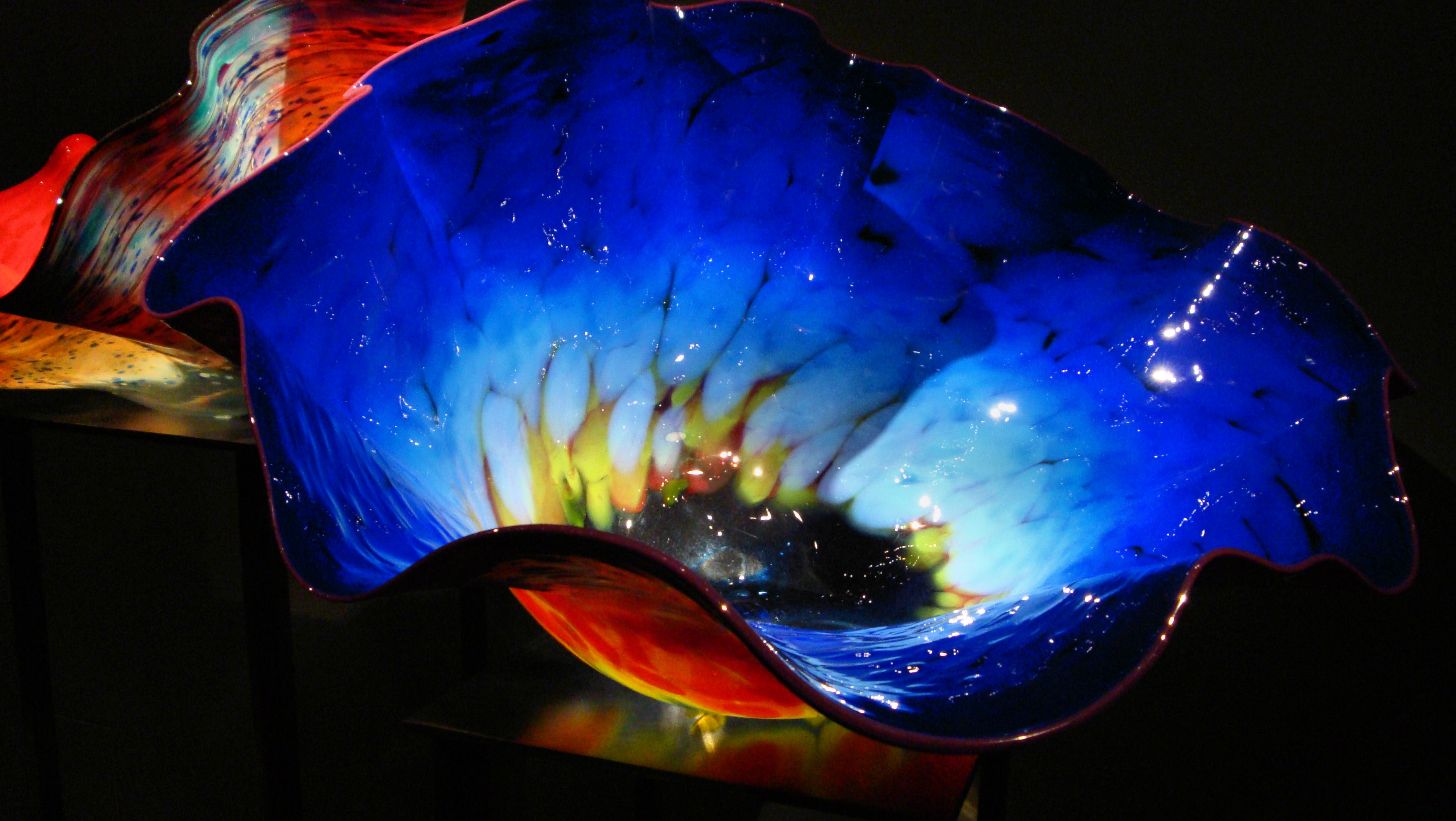 Dale Chihuly Exposición Macchia Forest