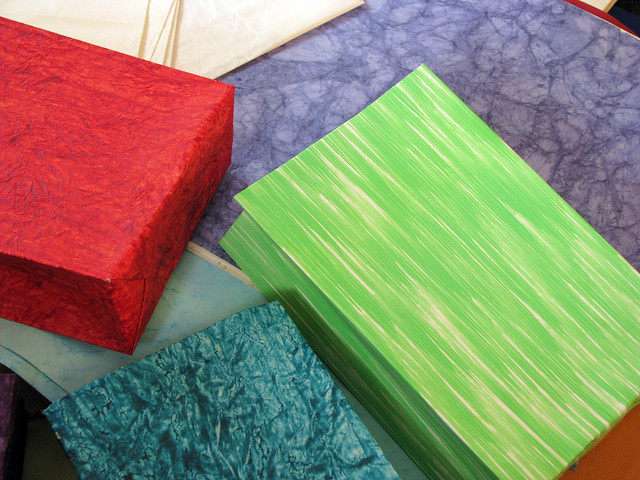 Paper File Making By Hand